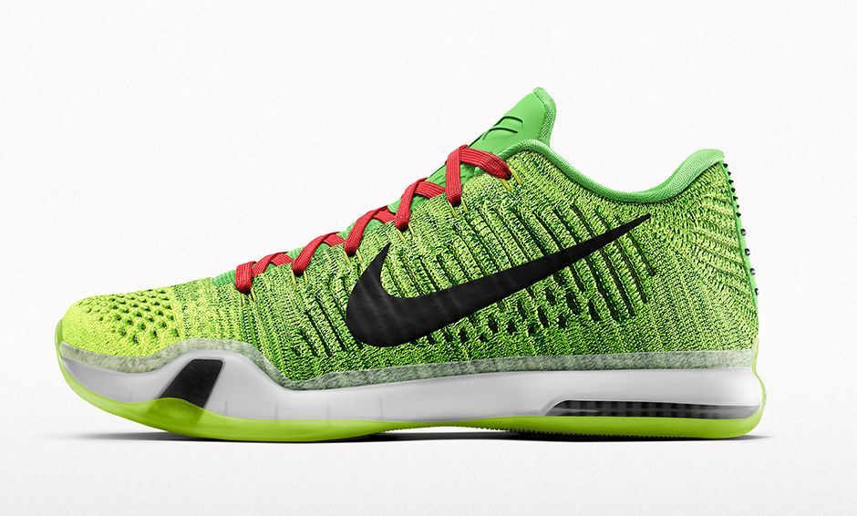 Tis The Season with The Nike Kobe 10 Elite Grinch. Roshe Run ShoesNike  Roshe RunBasketball ...