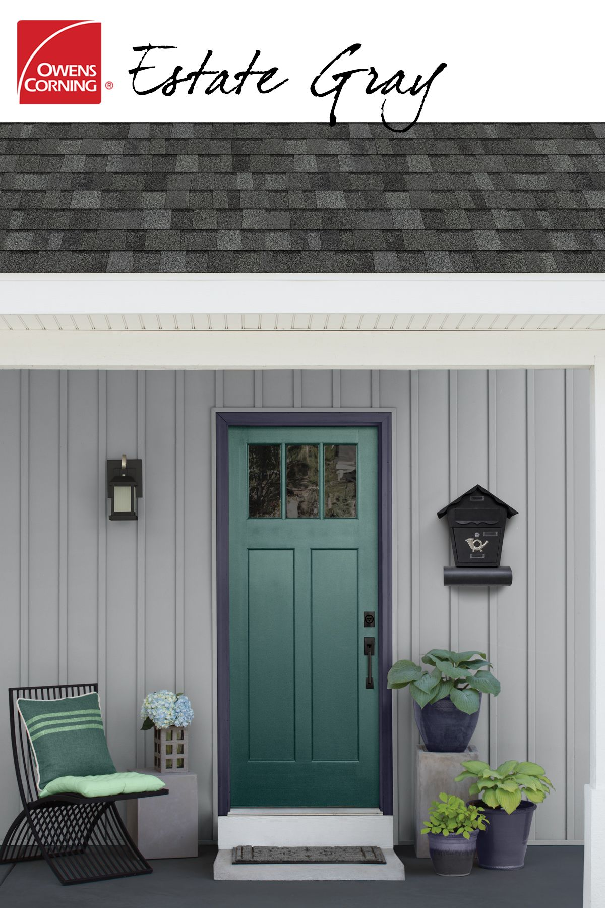 Best With A Roof Color Like Estate Gray The Exterior Of Your 400 x 300