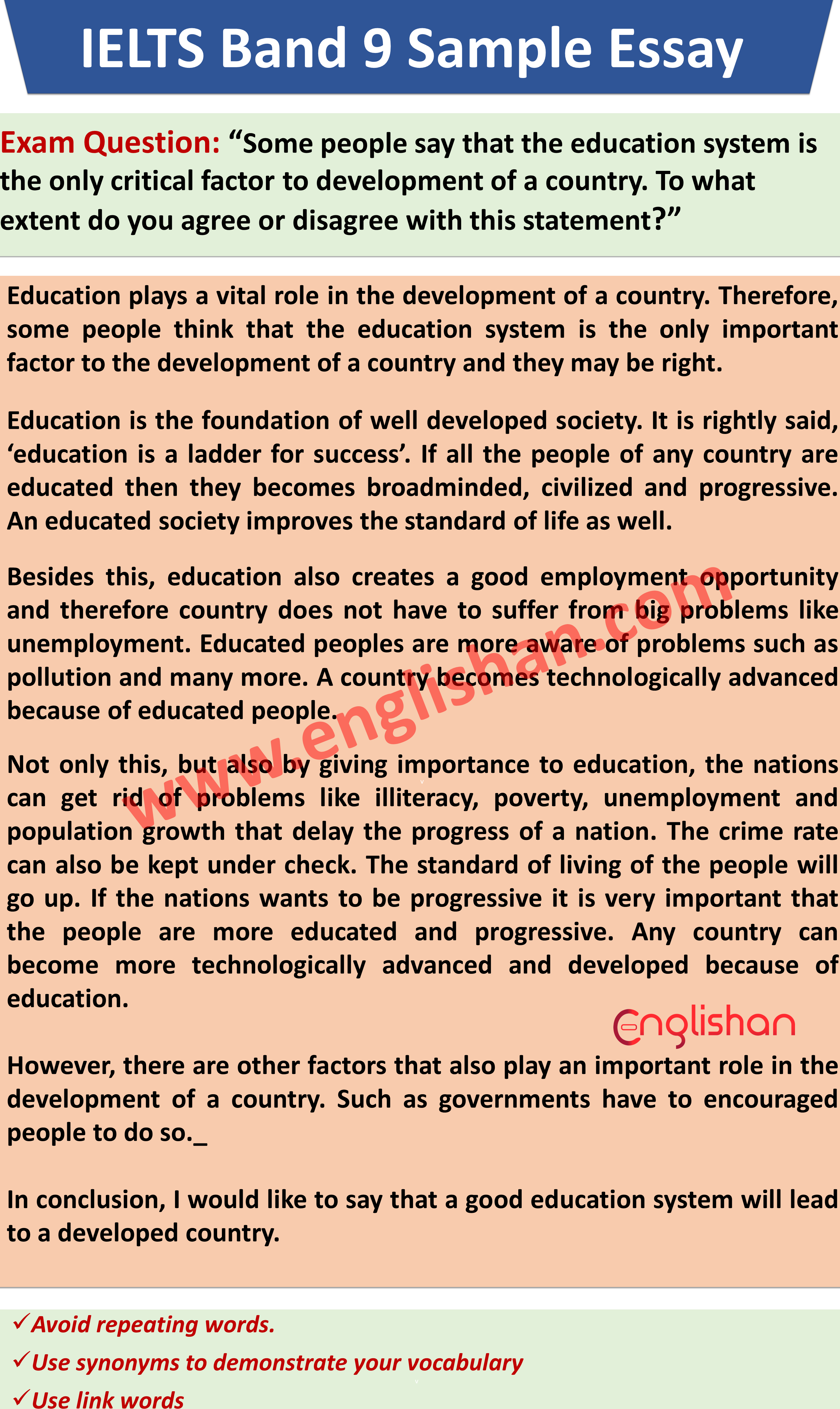 Ielt Writing Sample Band 7 2020 Essay Example Skills Pollution Conclusion Plastic Land