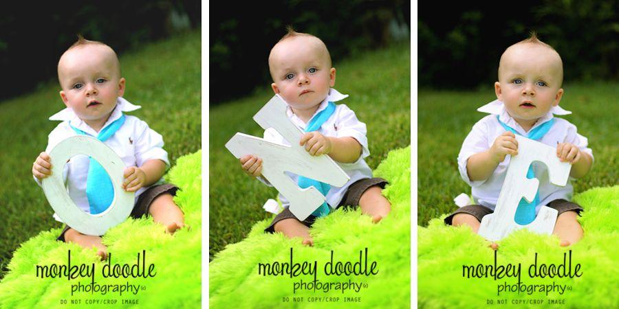 Monkey Doodle Photography: cake smash