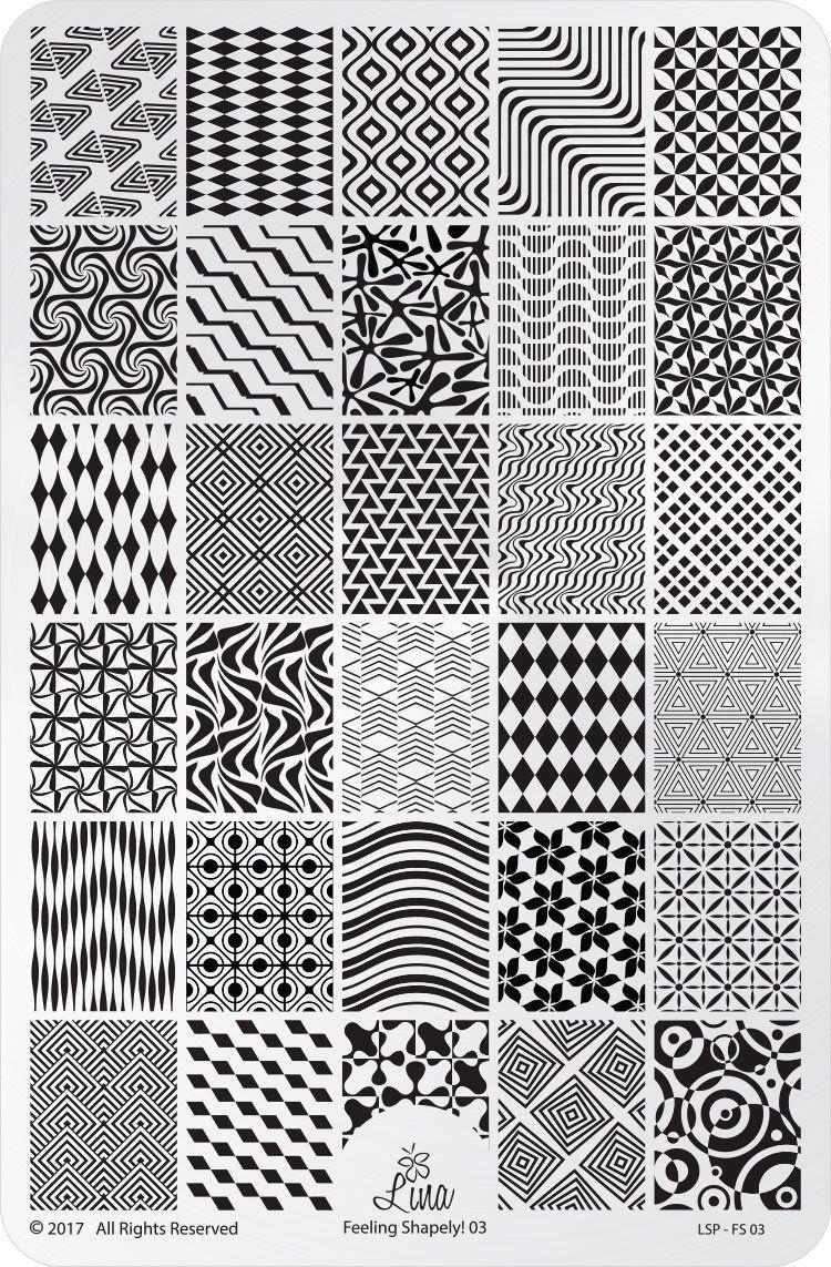 Feeling Shapely 03 Zentangle Patterns Zentangle Pattern