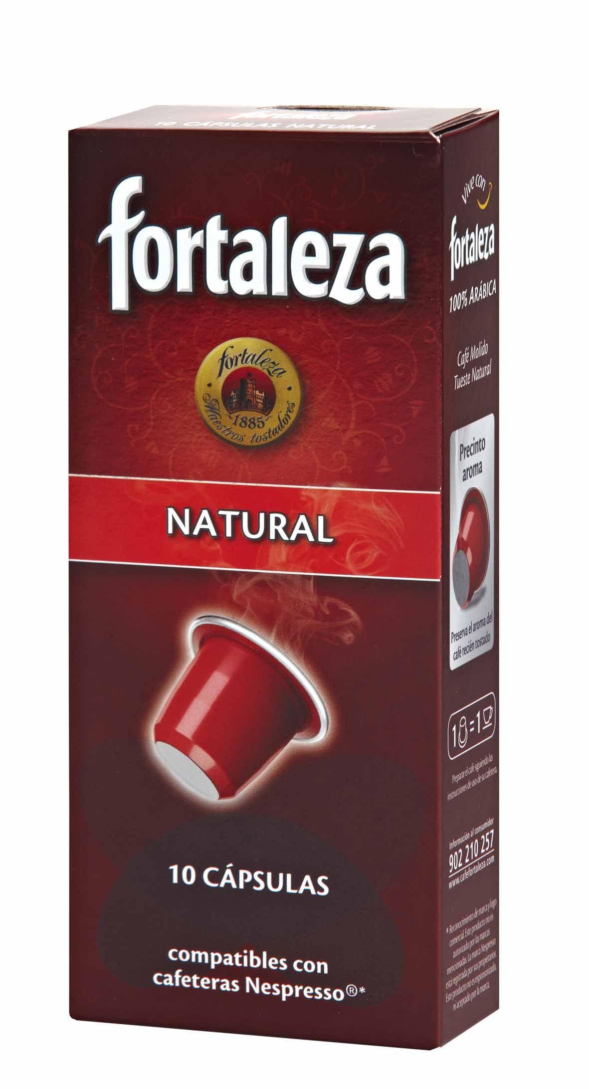 Las cápsulas de Café Natural son 100% Arábica. Contiene un blend de Arábicas lavados de América Central y naturales del Sur de América, café de matices afrutados.