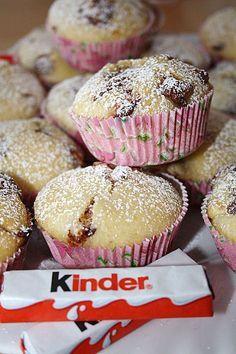 Kinderschokolade-Muffins #apfelrosenmuffins