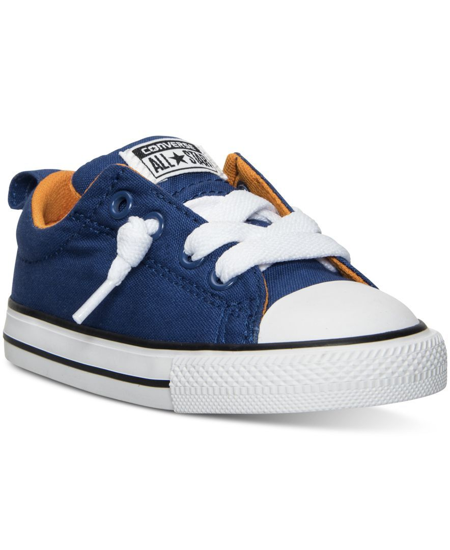 35587fc5b6ab Converse Toddler Boys  Chuck Taylor All Star Street Ox Casual Sneakers from Finish  Line