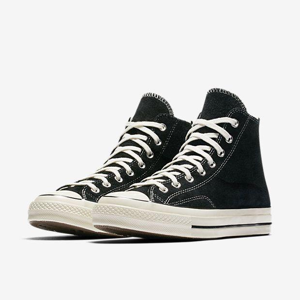 d15d3b3e42b978 Converse Chuck 70 Vintage Suede High Top Unisex Shoe