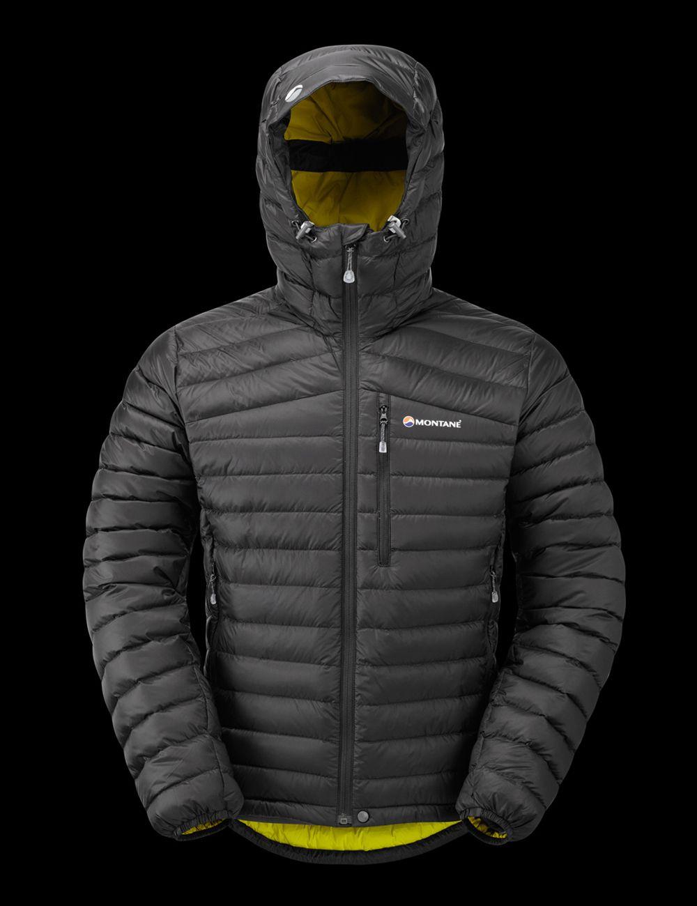 Montane Mens Featherlite Down Jacket-Black Small
