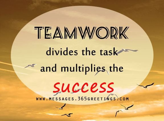 Teamwork Quotes and Sayings | Teamwork