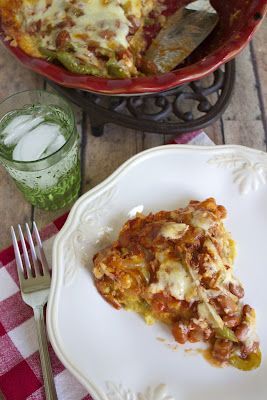 Veggie Tamale Pie- Great day in the morning this sounds tasty!!