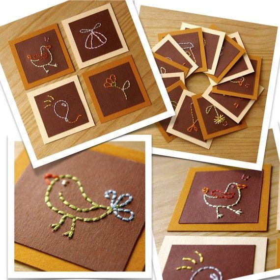 handmade cute cards  tarjetas making ideas