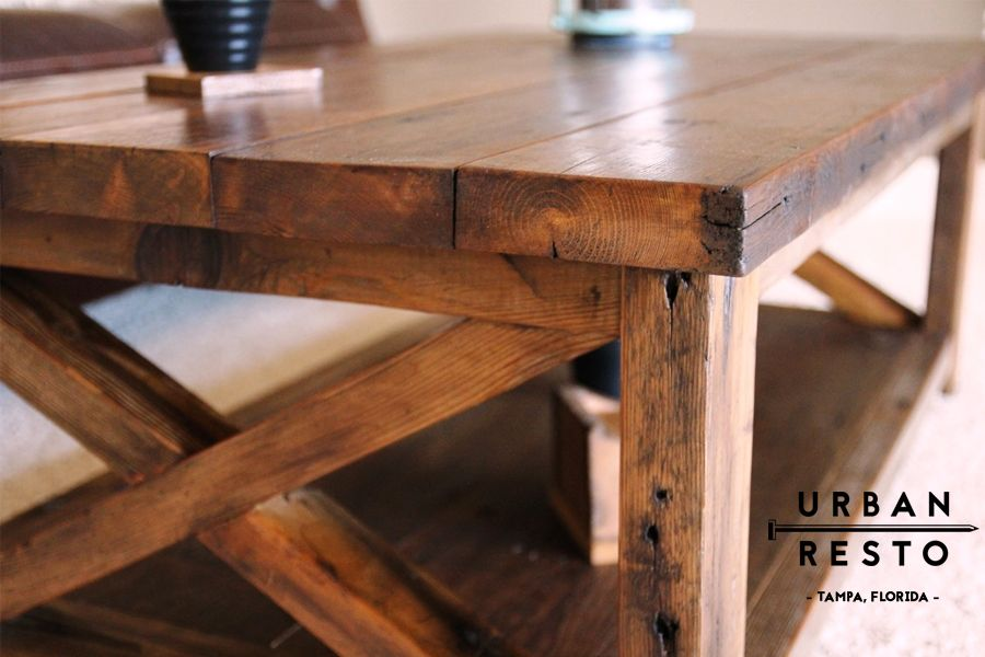 Visit Urban Resto Today To See Our Wide Variety Of Reclaimed Wood Furniture  Hand Crafted In · Reclaimed Wood FurnitureTampa FloridaRustic Style