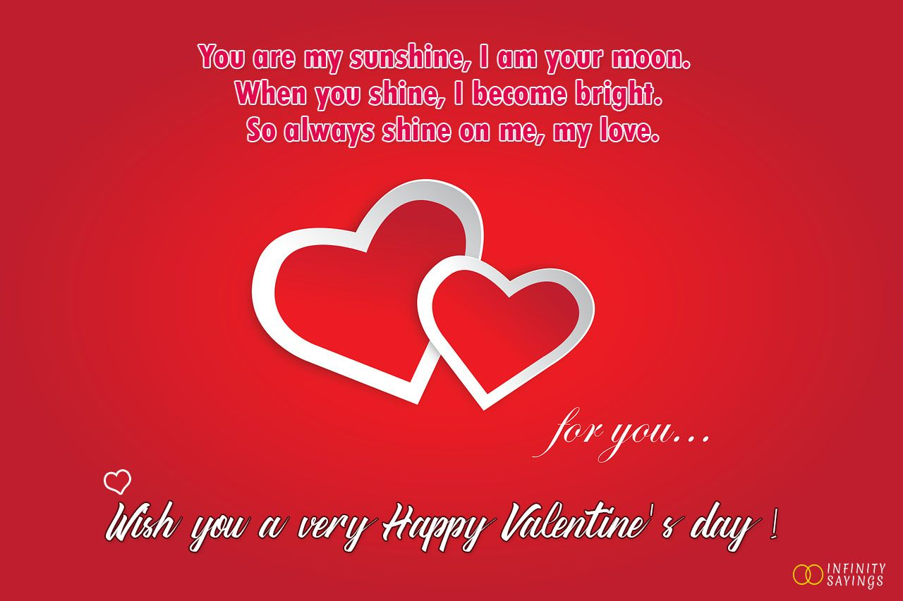 Valentine S Day Wishes Greetings For Wife Happy Valentines Day Wishes Wish Quotes Valentine S Day Quotes