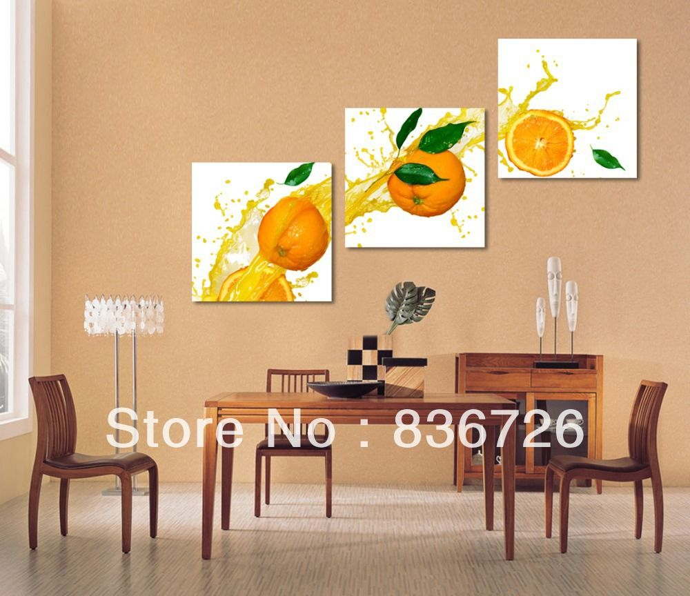 Paintings Canvas Modern Wall Decor Fruit Painting For Dining Room Jpg