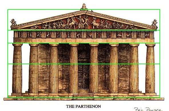 Phimatrix Golden Ratio Design And Analysis Software Architecture Parthenon Modern Architecture