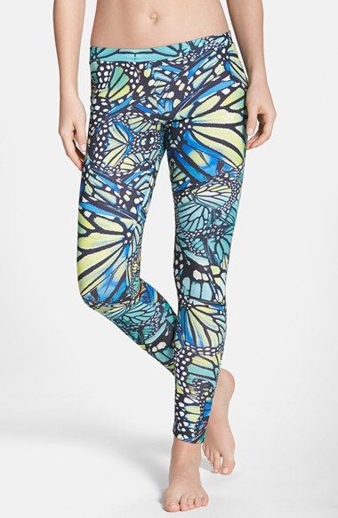 c987741777a7c8 adidas Butterfly Print Leggings available at #Nordstrom | Butterfly ...