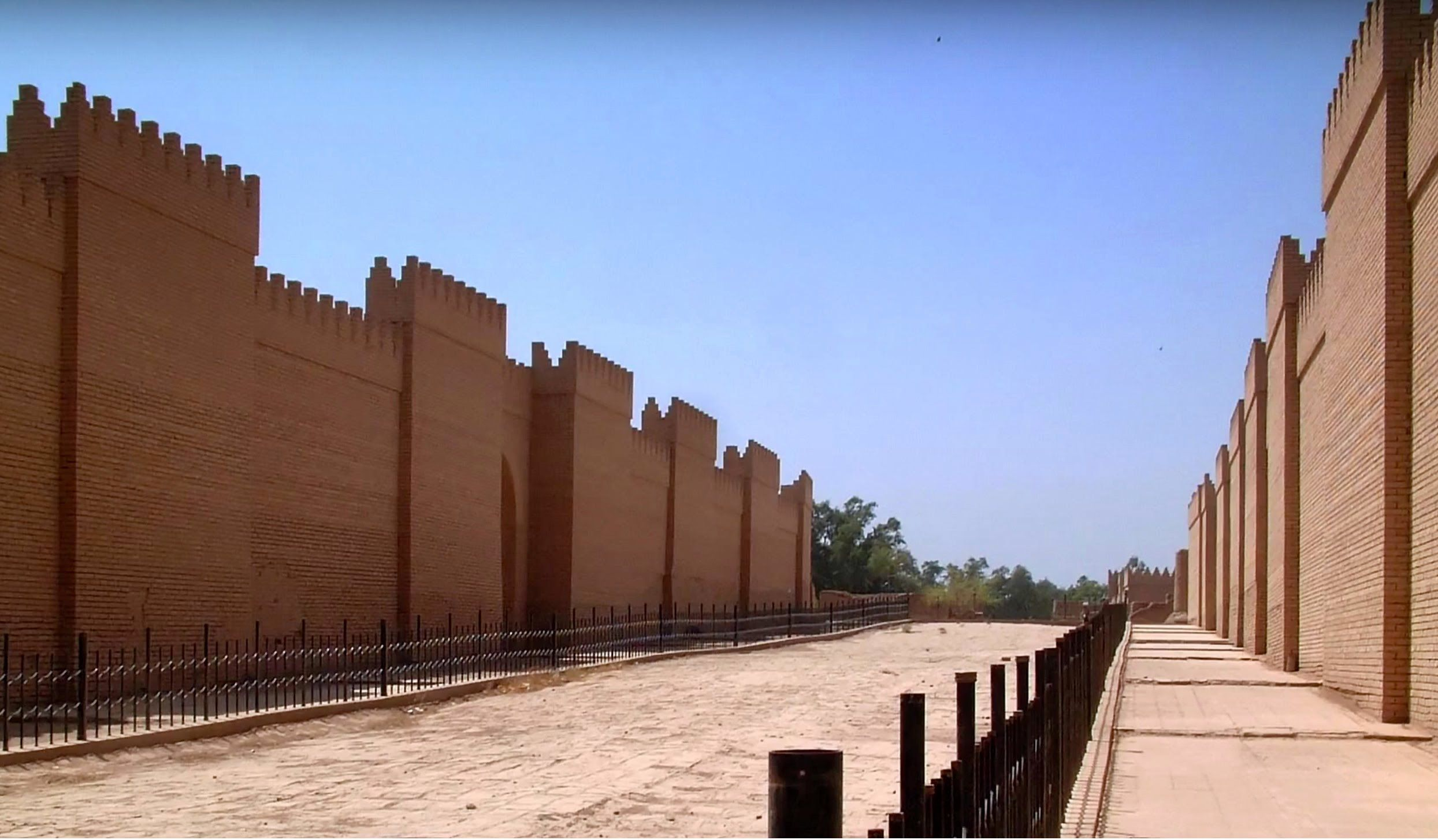 Visiting Babylon: a video produced with Lisa Ackerman of the World Monuments Fund.