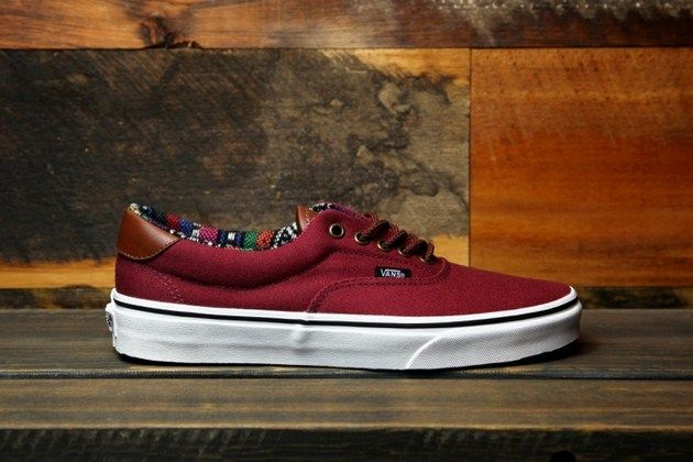 vans era 59 bordowe