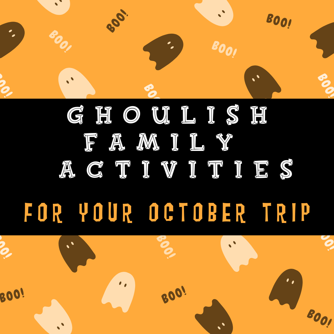 There S Still Time To Get Your Spooks On Check Our Our Newest Blog Packed With Family Fun For Halloween Find Them Here Trip Fall Camping Family Activities