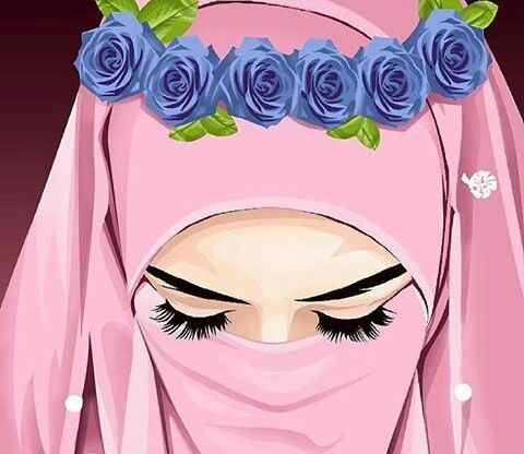 Sedih Muslim Couples Girls Women Hijab Dp Anime Muslimah