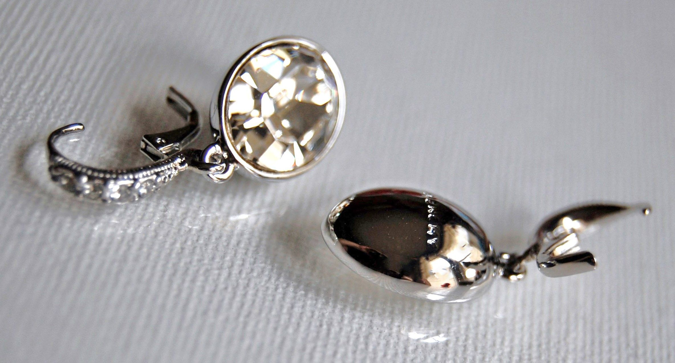Givenchy Drop Earrings.
