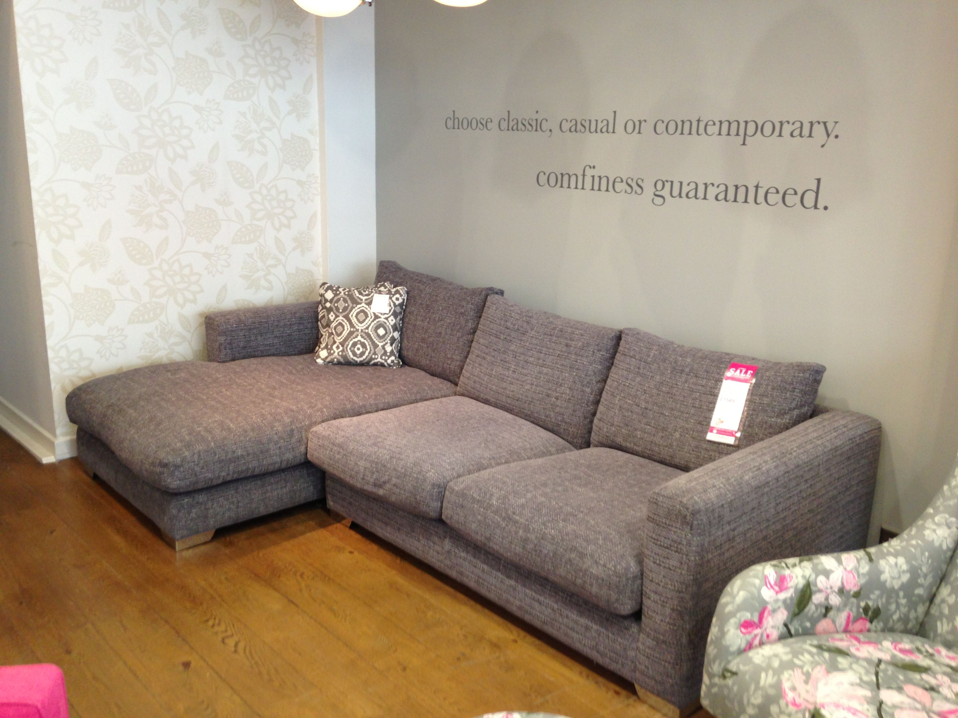 Dillon Group Small Sofa One Arm Chaise In Casual