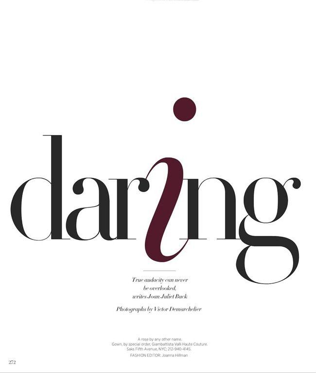 HARPER'S BAZAAR MAGAZINE | Victor Demarchelier