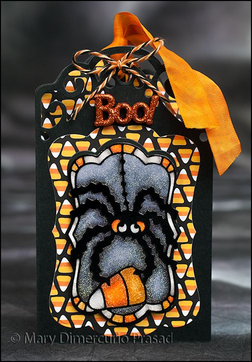 Halloween Tag Front