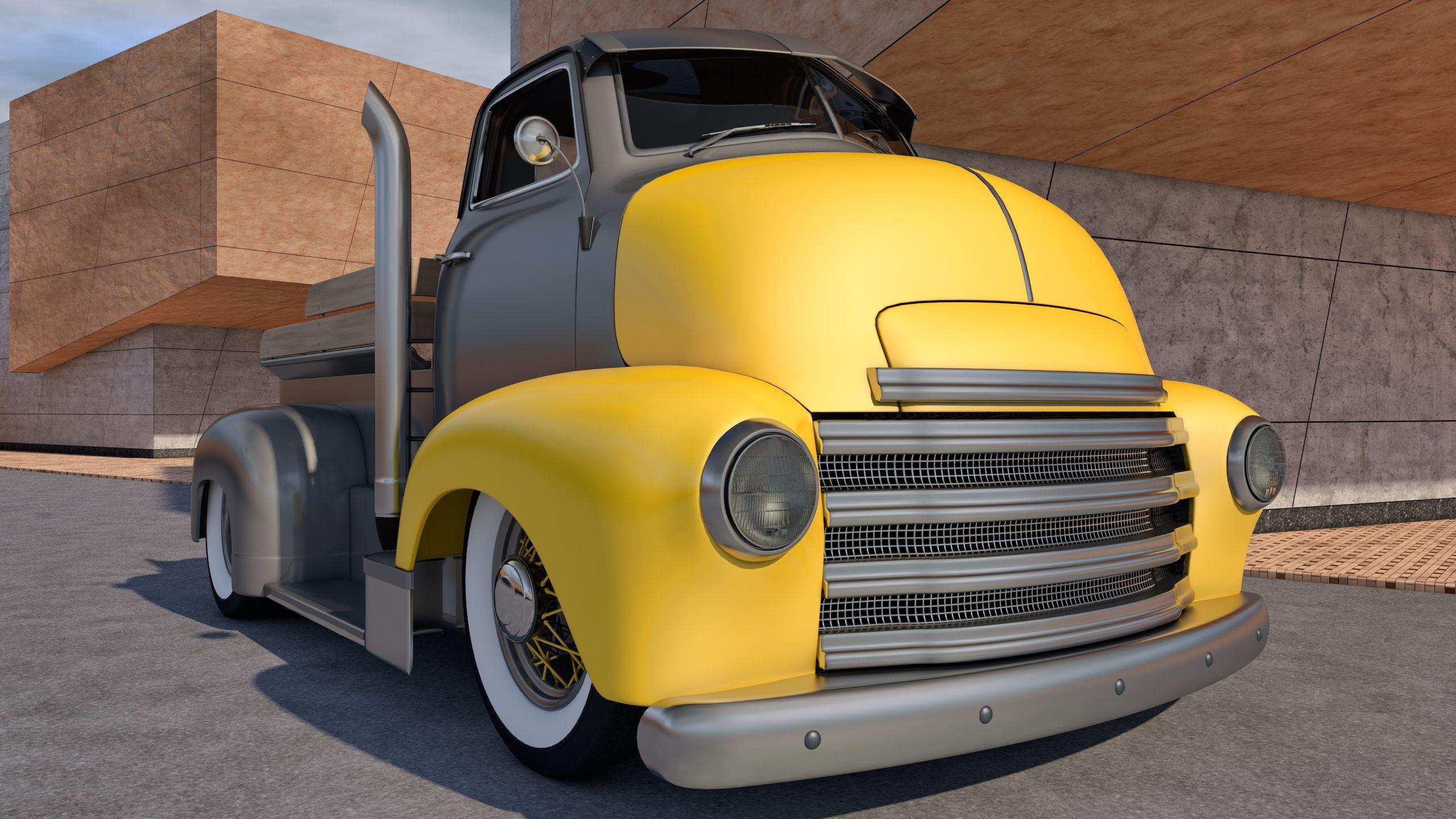 Chevrolet COE Truck by *SamCurry on deviantART   Vintage ...