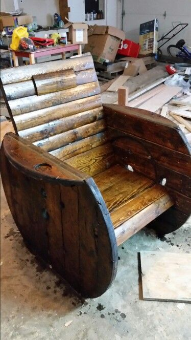 Astounding Wire Spool Chair Diy Projects Wood Spool Spool Chair Best Image Libraries Sapebelowcountryjoecom