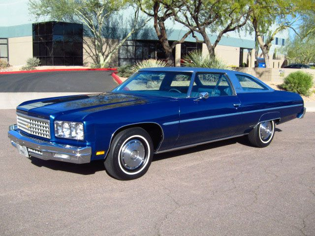 1976 Chevrolet Impala Sport Coupe Awesome Car And Year Chevrolet Impala Chevrolet Classic Cars
