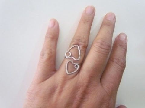 Adjustable Heart Ring Wire & Jewelry Making Tutorial G4