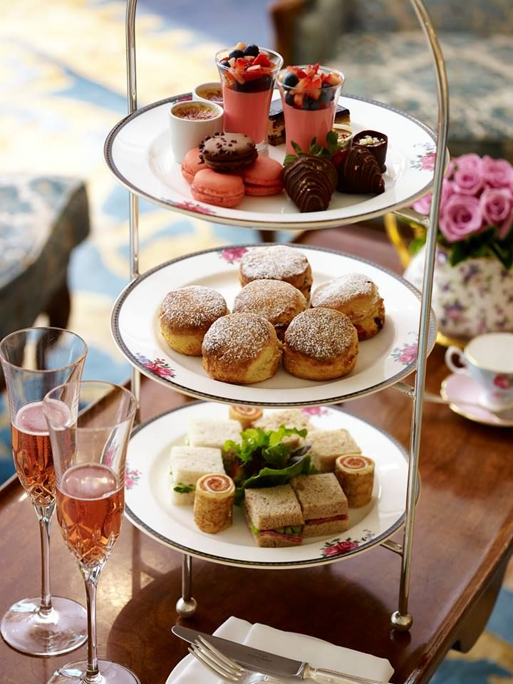 Afternoon Tea at The Langham Hotel, Sydney