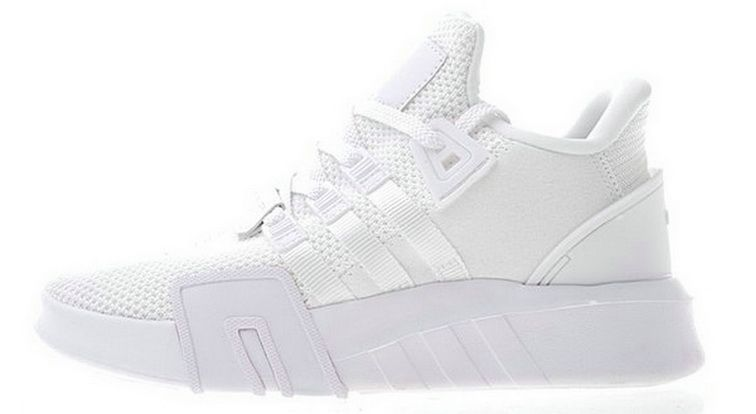 Adidas EQT Basketball Adv Da9534 Triple White Real Shoe Wholesale Shoes 6e43e8a127