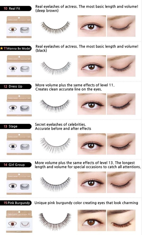 Idol Lash Aritaum Korean Celebrities Eyelash Fake Eyelashes Best False Eyelashes Natural Fake Eyelashes