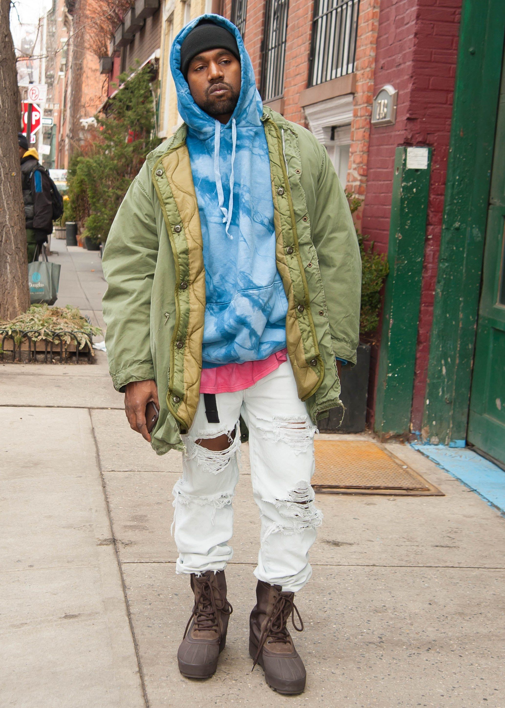All of Kanye West\u0027s Best and Wildest Outfits