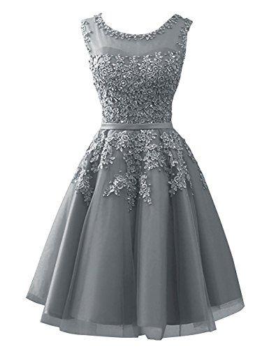 Abendkleider kurz elegant amazon