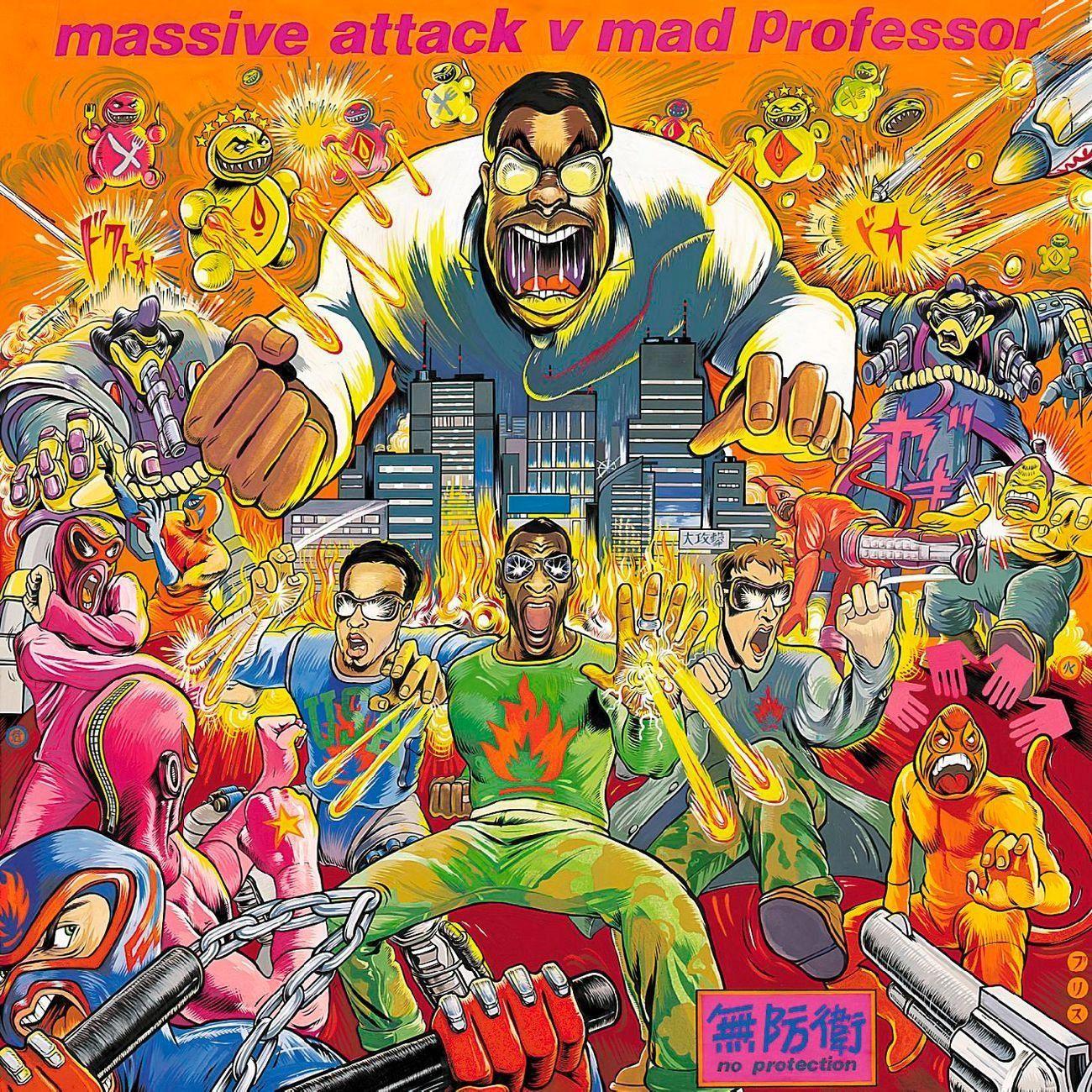 """Massive Attack vs Mad Professor """"No Protection"""""""