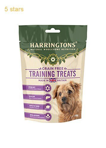 Harringtons Training Treats 160 G Pack Of 9 Dog Food Container