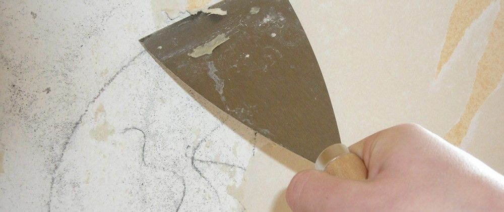 How to Remove Wallpaper Glue | Old wallpaper, Removing old ...