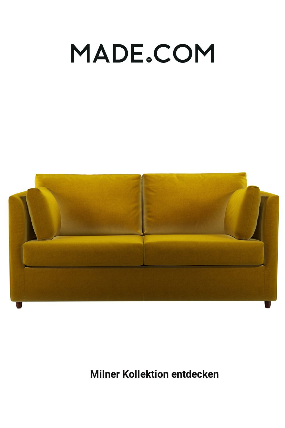 Made Schlafsofa Gelb In 2020 Sofa Furniture Couch