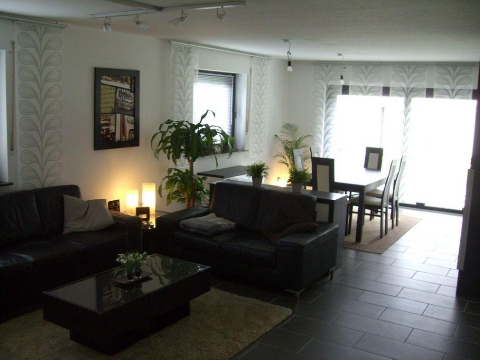 Gut Brillant Dunkle Fliesen Wohnzimmer Bilder