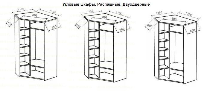 Шкаф угловой с колонкой цена: 10500 р. Купить шкаф угловой ...