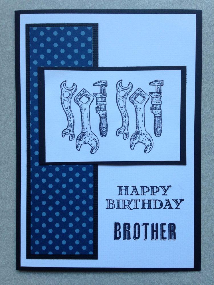 Handmade Male Birthday Card