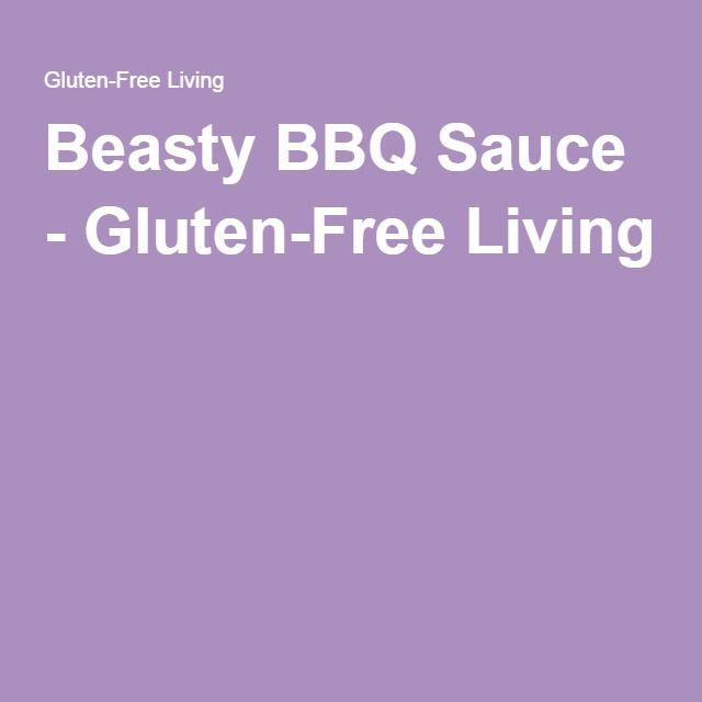 Beasty BBQ Sauce - Gluten-Free Living