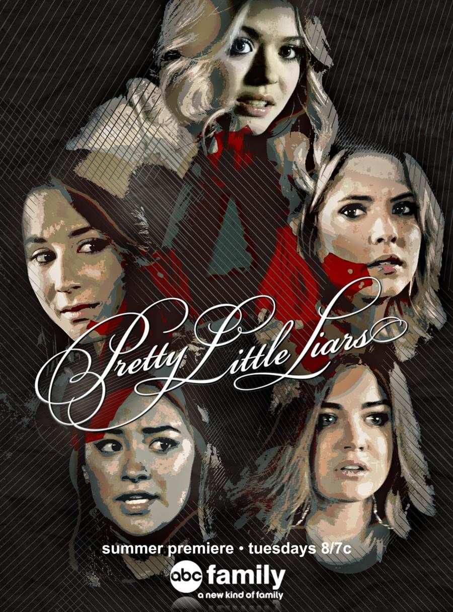 40 Pretty Little Liars Season Six Fan Art Posters So Good They