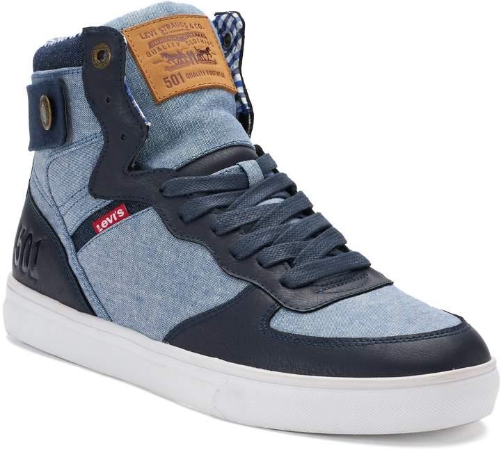 levis high tops sneakers