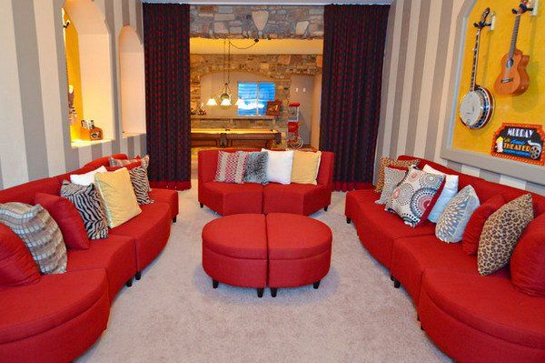17 Stylish Living Room Designs With Red Couches is part of Living Room Couch Red - If you want with color, in your living room to enter energy, warmth and passion, then there is no better option, then to select red color  Red is the