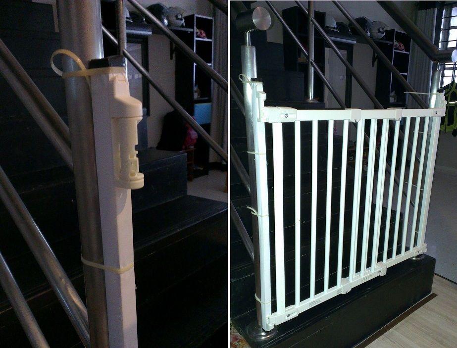 ikea patrull fast safety gate. Black Bedroom Furniture Sets. Home Design Ideas