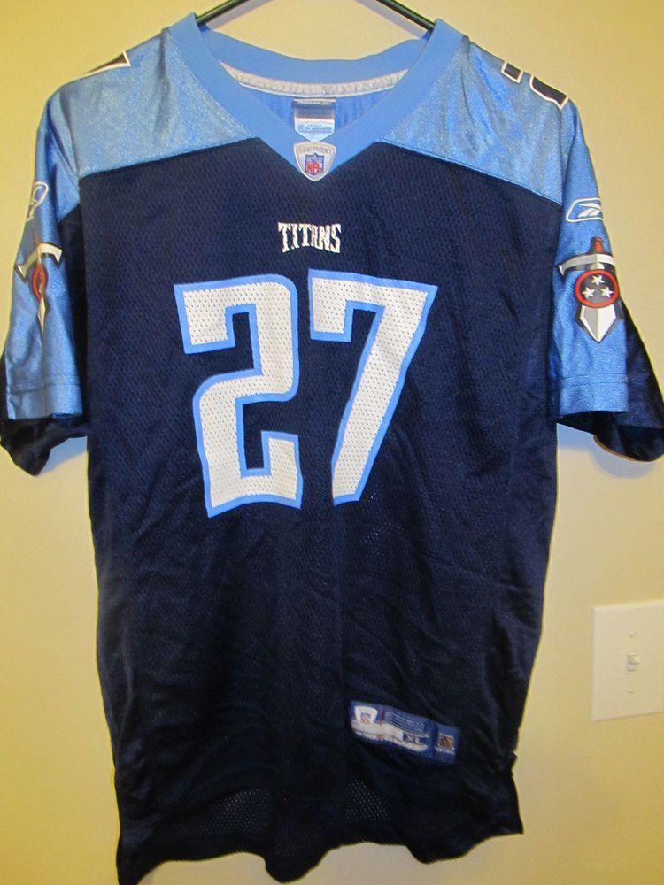 designer fashion 5334e e5f5b Eddie George - Tennessee Titans Jersey - Reebok youth XL ...