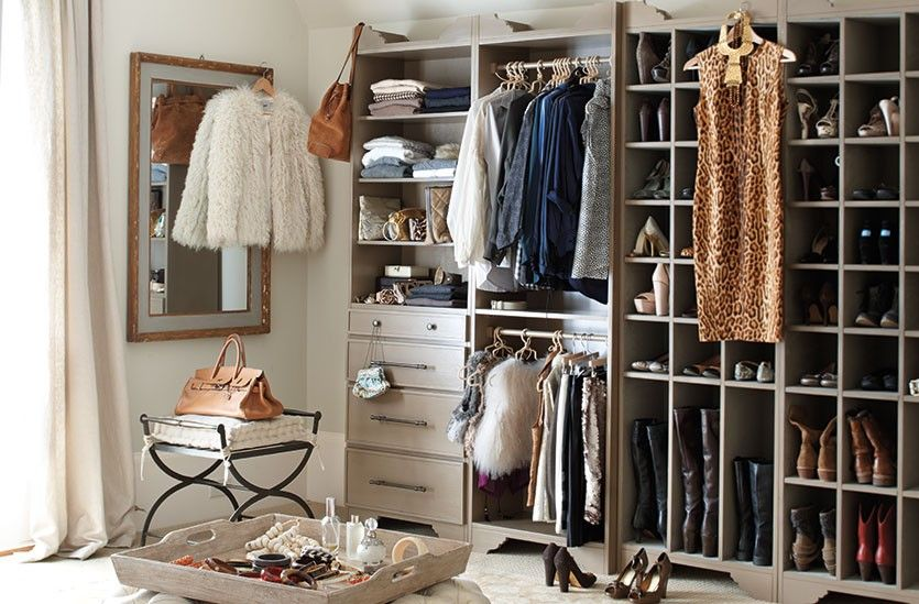 Ballard Designs Sarah Storage collection turns any space into an organized dressing room