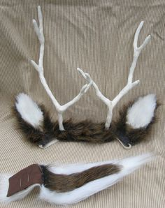 white tailed deer costume - Google Search : deer costume ears  - Germanpascual.Com